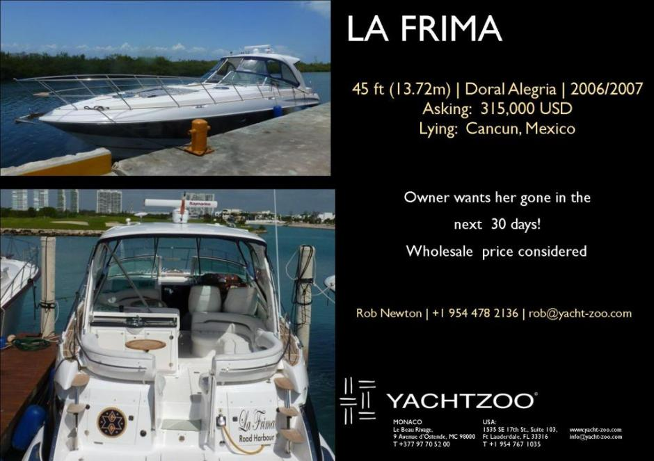 LA FRIMA - new CA